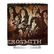 Aerosmith - Back In The Saddle Shower Curtain