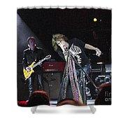 Aerosmith-steven Tyler-00160 Shower Curtain