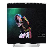 Aerosmith - Steven Tyler -dsc00139-1 Shower Curtain
