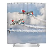 Aerostars Shower Curtain