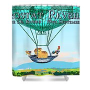 Aerostat Reveillion Shower Curtain