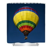 Aerostatic Balloon Shower Curtain
