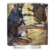 Aesop: Town And Country Shower Curtain