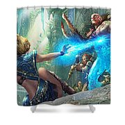 Aetherize Shower Curtain