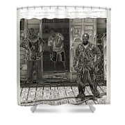 Affable Shower Curtain