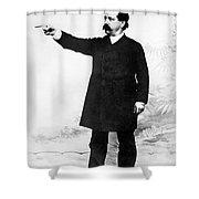Afl Leader Samuel Gompers Shower Curtain