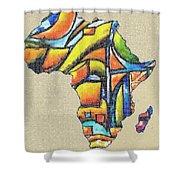 Africa 2 Shower Curtain