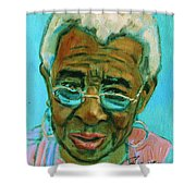 African American 6 Shower Curtain
