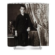 African American Boy, C1899 Shower Curtain