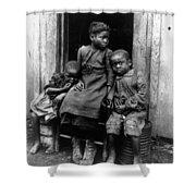 African American Children Shower Curtain
