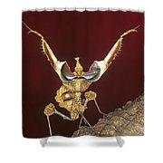 African Devil Mantis Shower Curtain
