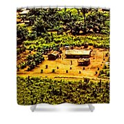 African Land Shower Curtain