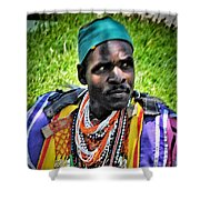 African Look Shower Curtain