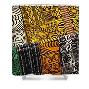 African Prints Shower Curtain