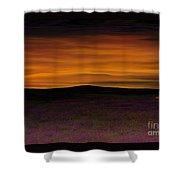 African Sky Shower Curtain