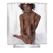 Chynna African American Nude Girl In Sexy Sensual Photograph And In Color 4778.02 Shower Curtain