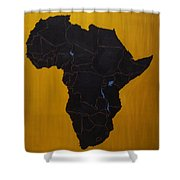Afrika Shower Curtain