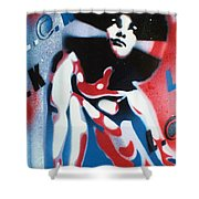 Afro America Shower Curtain