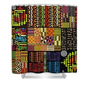 Afroecletic I Shower Curtain
