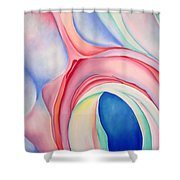 After O'keeffe Shower Curtain