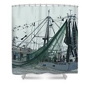 After The Catch Shower Curtain