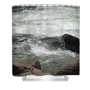 After The Falls Shower Curtain