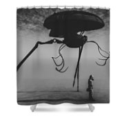 After The Invasion Shower Curtain