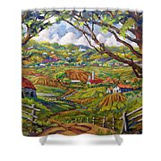 After The Rain By Prankearts Shower Curtain