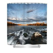 After The Rain - Square Shower Curtain