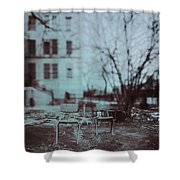 After The Storm Shower Curtain by Margie Hurwich