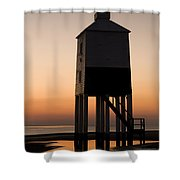 After The Sun Set Shower Curtain by Anne Gilbert