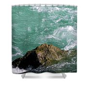 After The Wave Shower Curtain