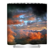 After Tornado Skyscape Shower Curtain