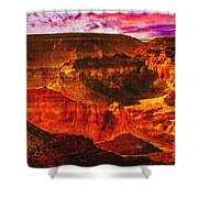 Afterglow Grand Canyon National Park Shower Curtain