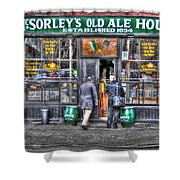Afternoon At Mcsorley's Shower Curtain