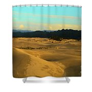 Afternoon At Oregon Dunes Shower Curtain