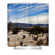 Afternoon At Red Rock Shower Curtain