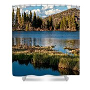 Afternoon At Sprague Lake Shower Curtain