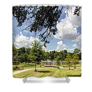 Afternoon At The Park Shower Curtain