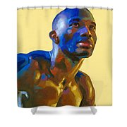 Afternoon Colors Shower Curtain