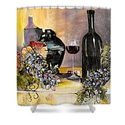 Bottles Of Time Shower Curtain