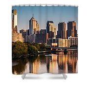 Afternoon In Philly Shower Curtain