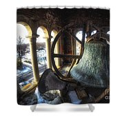 Afternoon In The Belfry Shower Curtain