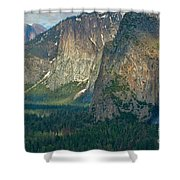 Afternoon In Yosemite Shower Curtain