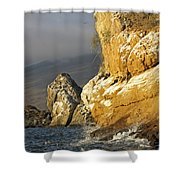 Afternoon Light On Isabella Island Shower Curtain