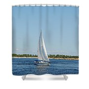 Afternoon On The Bay Shower Curtain