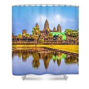 Afternoon Reflection  Shower Curtain
