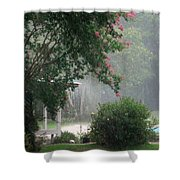 Afternoon Showers Shower Curtain
