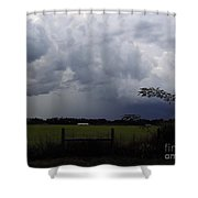 Afternoon Storm Shower Curtain