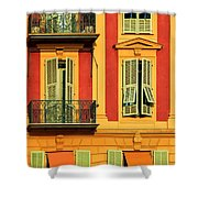 Afternoon Windows Shower Curtain